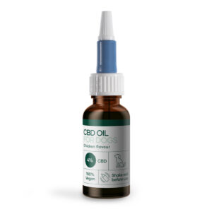 CBD Olja for hundar med kyckling (1200mg CBD) 30ml