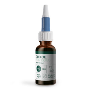 CBD Olja for hundar med nötkött (1200mg CBD) 30ml